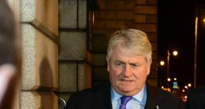 Denis O Brien: newspaper sought to publish on the commercial relationship between him and developer Paddy McKillen. Photograph: Cyril Byrne