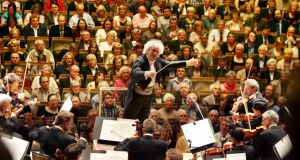 Simon Rattle  conducts the Choir and Orchestra of the Age of Enlightenment in Haydn's Creation at the National Concert Hall this Sunday