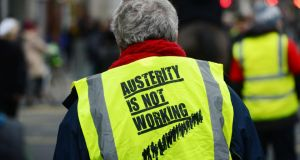 """Right now we're still dealing with the aftermath of a once-in-three-generations financial crisis. This is no time for austerity."" Photograph: Alan Betson"