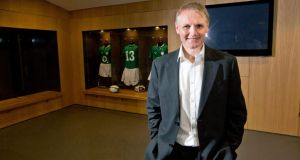 Joe Schmidt has been named as the new Ireland coach. Photograph: Dan Sheridan/Inpho
