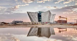 Since Titanic Belfast  opened in 2012  more than 800,000 people have visited it,  delivered an estimated £54.3 million tourist spend boost to Northern Ireland. Photograph:  Titanic Belfast/PA Wire