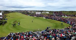 The Dunluce Links at Royal Portrush Golf Club during last July's Irish Open. Photograph: Getty Images