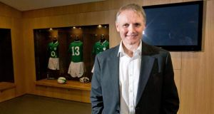 Joe Schmidt will take charge of his first Ireland game against Samoa on November 9th. Photograph: Morgan Treacy/Inpho