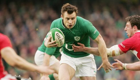 Winger: Tommy Bowe (Ireland). Photograph: Alan Betson/The Irish Times