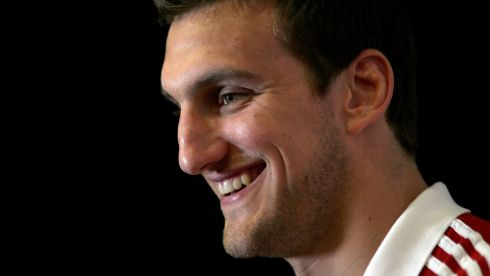 The British & Irish Lions will be led by Sam Warburton (Wales). Photograph: David Davies/PA Wire