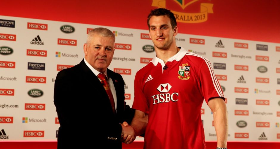 Gallery: Full British & Irish Lions squad