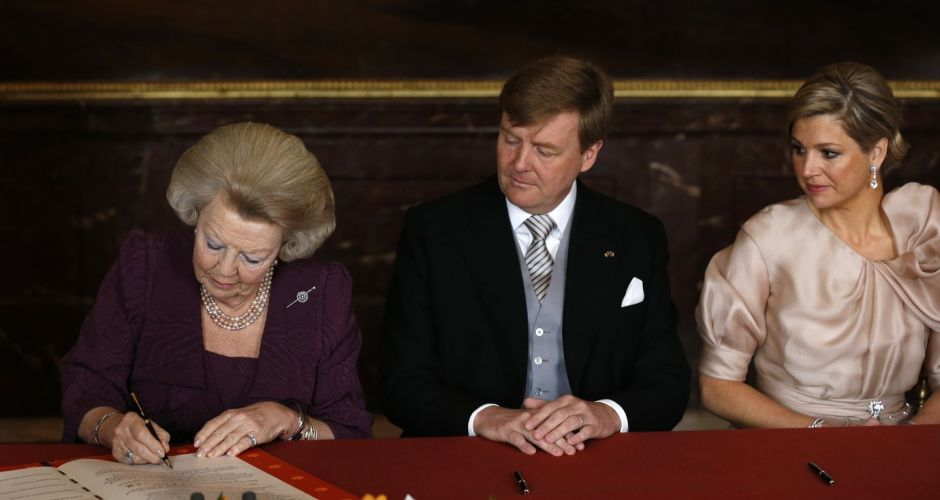 Abdication of Queen Beatrix of The Netherlands