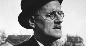 James Joyce (1882-1941) in Zurich. Photograph:  Hulton Archive/Getty Images