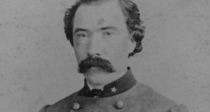 Dick Dowling in full Confederate uniform, in 1865. Image from Lawrence T Jones III Collection