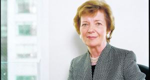 Special UN envoy Mary Robinson who acknowledged there have been multiple failures to bring peace to the troubled region in the past