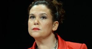 Mary Lou McDonald: wanted assurance legislation would not become a hostage to fortune.
