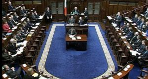 "The Dáil chamber. ""A free vote on matters of conscience would be good for politics; and it would be good for politicians."""