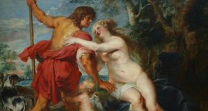 Art or kitsch?: a detail of Rubens's Venus & Adonis. Photograph: Buyenlarge/Getty