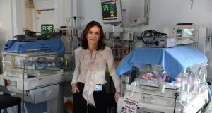 "Dr Rhona Mahony: the master of the National Maternity Hospital said there was ""no question"" of the Government's proposed legislation on abortion allowing late terminations. Photograph: Cyril Byrne"