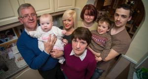 All together now: the Hayes family in Kildare