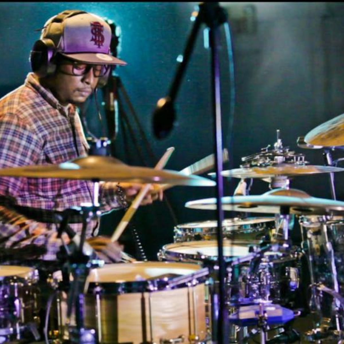 Getting schooled by Chris Dave – the 'most dangerous drummer alive'