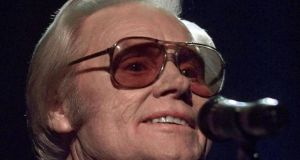 George Jones was nicknamed No-Show Jones for the concerts he missed during drinking and drug binges. Photograph: AP Photo/John Russell