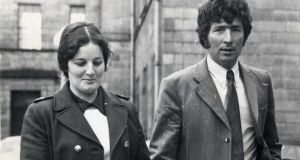 Mary and James McGee outside the High Court in 1972
