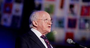 President Michael D Higgins has insisted he enjoys a good working relationship with the Government. Photograph: Bryan O'Brien/The Irish Times