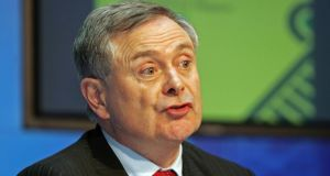 "Minister for Public Expenditure and Reform Brendan Howlin said he would lead an ""efficiency drive"" to cut costs. Photograph: Eric Luke"