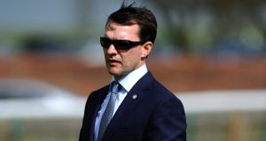 Aidan O'Brien 'delighted' with Camelot since his return to Coolmore. Photographph:  Alan Crowhurst/Getty Images