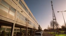 "The television centre at RTÉ in Donnybrook: the broadcaster's director general, Noel Curran, said recently he would be ""happy to see the balance of commercial and public funding alter"". Photograph: Alan Betson"