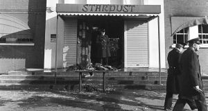 The Stardust nightclub in Artane, north Dublin, after the February 1981 fire. Photograph: Tom Lawlor