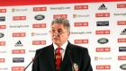 Lions tour manager Andy Irvine at the squad announcement in London. Photograph: Dan Sheridan/Inpho