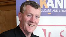A file image of Fr  Denis Nulty who has been  appointed at the Bishop of  Kildare and Leighlin. Photograph: PA