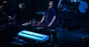 John Grant works his magic at Dublin's Vicar Street. Photograph: Cyril Byrne