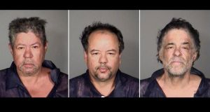 Booking photos provided by the Cleveland Police Department of brothers Ariel (L), Onil (C) and Pedro Castro. The brothers were arrested in connection with the abduction of three Cleveland women found alive after vanishing in their own neighbourhood for about a decade. Photograph: Reuters.