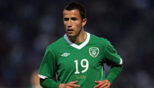 Republic of Ireland international Keith Fahey was let go by Birmingham City this week. Photograph: Donall Farmer/Inpho