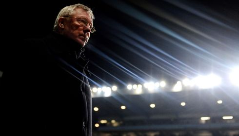 Ferguson during a Barclays Premier League match between Aston Villa and Manchester United at Villa Park on February 10, 2010 in Birmingham. Photograph: Laurence Griffiths/Getty Images
