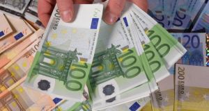 Irish households are getting richer again - Central Bank. Photograph: Sean Gallup/Getty Images