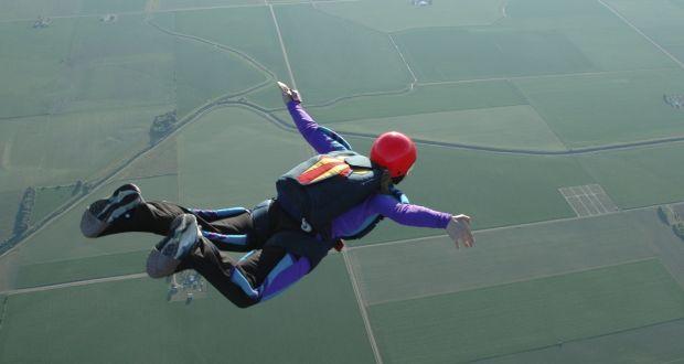 Man received serious injuries following parachute crash-landing
