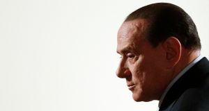An Italian court upheld a conviction against former Italian prime minister Silvio Berlusconi for tax fraud today. Photograph: Max Rossi/Files/Reuters.