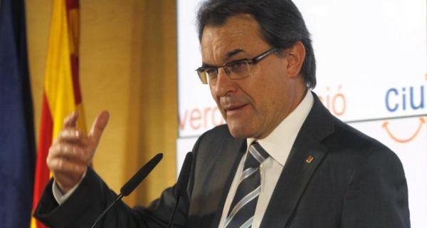 Convergencia i Unio party leader  Artur Mas