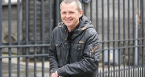 People Before Profit TD Richard Boyd Barrett leaving court yesterday.