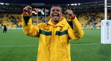Australia's Kurtley Beale has been suspened again by the Queensland Reds for a breach of team discipline. Photograph:   David Davies/PA Wire.