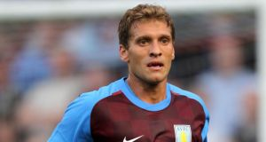 Aston Villa captain Stiliyan Petrov, who has been suffering from acute leukaemia, has announced his retirement from football on the club's website. Photograph:  David Davies/PA Wire