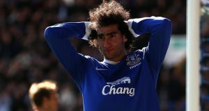 Marouane Fellaini: expected to leave Everton in search of Champions League football.