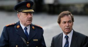 Garda Commissioner Martin Calllinan and Minister for Justice Alan Shatter