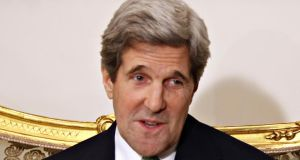 "US secretary of state John Kerry expressed gratitude to Russia for its willingness to try to arrange a ""Geneva Two"" conference to negotiate an end to the conflict. Photograph: Reuters"