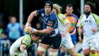 Seán O'Brien in action against the Ospreys at the RDS. Photograph: Lorraine O'Sullivan/Inpho