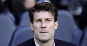 Swansea City manager Michael Laudrup insists he will be staying where he is. Photograph: Jonathan Brady/PA Wire