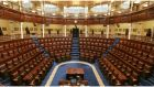 "The Dáil chamber. ""Our parliament could do with an injection of vitality."" Photograph: Alan Betson"