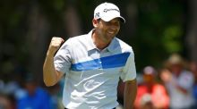 Spain's Sergio Garcia shot a 65 at Sawgrass in Ponte Vedra Beach, Florida. Photograph: Chris Keane/Reuters