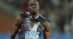 While he always starts a season slowly,  the hope is that Usain Bolt will be on flying form come the World Championships in August. Photograph: Laurent Dubrule/Reuters