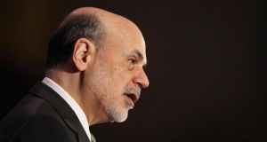 US Federal Reserve chairman Ben Bernanke said he was watching for signs that banks were resorting to speculation.