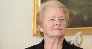 Former prime minister of Norway Gro Harlem Brundtland: met more than a dozen young people from Northern Ireland in Dublin yesterday